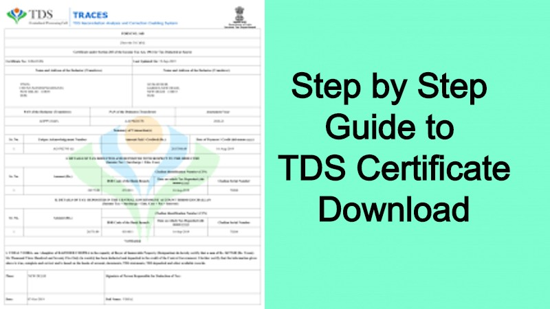 TDS Certificate Download